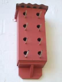 Plans to Build a Sparrow Bird House