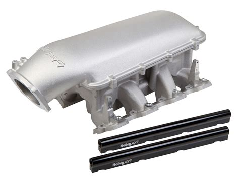 Holley EFI 300-126 Holley Mid-Rise Intake - GM LS1/LS2/LS6 ...