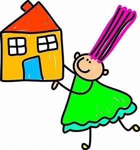 Eltern Verkaufen Haus An Kind : haus kind vektor abbildung illustration von geb ude 18119261 ~ Frokenaadalensverden.com Haus und Dekorationen
