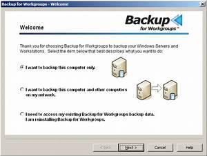 Windows Server Backup Software