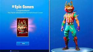 HOW TO UNLOCK NEW TOMATOHEAD CROWN In Fortnite