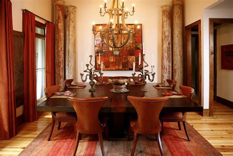 large square dining table Dining Room Contemporary with