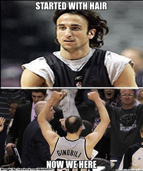 Manu Meme - meme of the day manu started with hair now we here