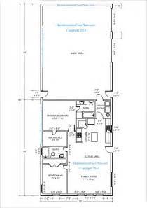 40 X 30 Barndominium Floor Plans