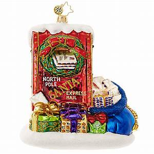 christopher radko letters to santa ornament With christopher radko letters to santa dishes