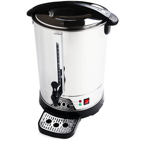 I'm guessing smart water of fiji are the best in that order but i haven't done any real research on this topic. 30L Catering Hot Water Boiler Tea Urn Coffee - £59.99 ...