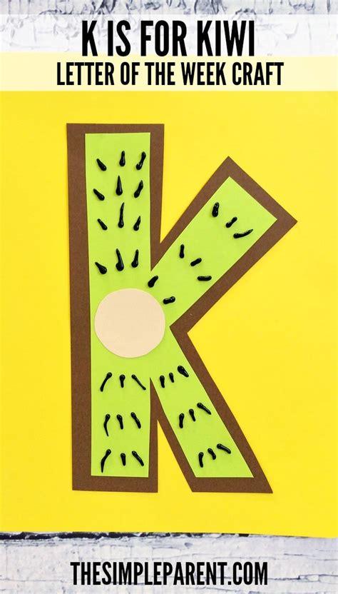 letter k craft for preschool k is for kiwi alphabet craft 456   letter k craft for preschool