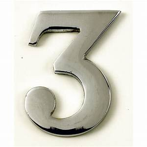 Plaque Numero De Maison : chiffre 3 adh sif en laiton plaque de signalisation num ro de maison chiffres lettres ~ Teatrodelosmanantiales.com Idées de Décoration
