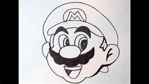 How To Draw Mario - YouTube