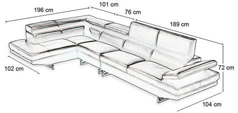 dimension canape angle dimension canapé d angle idées de décoration intérieure