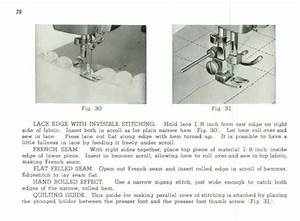 White 2134 Zigzag Sewing Machine Instruction Manual