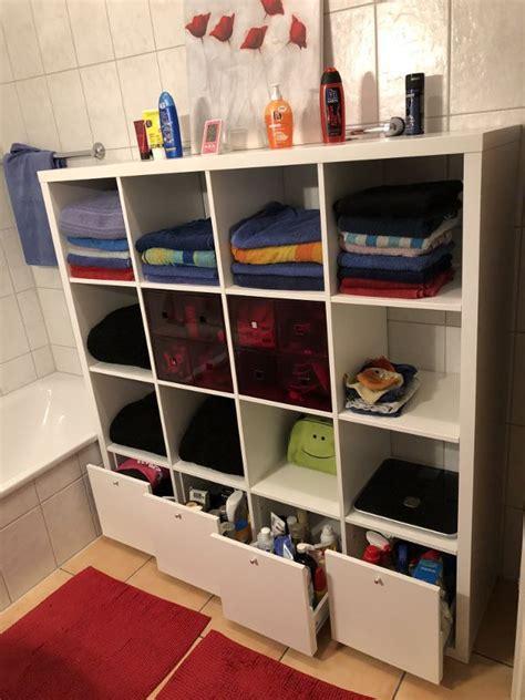 Regale Für Badezimmer by Ikea Kallax Regal Hacks F 252 R Dein Badezimmer In 2019 Home