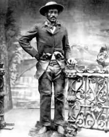Black Cowboys Wild West Outlaw