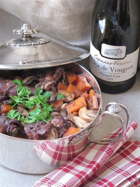 cuisine au vin lapin au vin blogs de cuisine