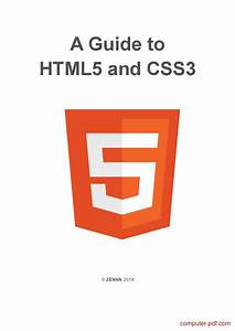 Pdf  A Guide To Html5 And Css3 Free Tutorial For Beginners