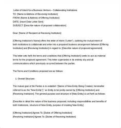 Realtor Resume Exles by Letter Of Intent Outline Http Www Letter Of Intent Org