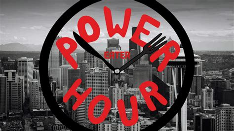 long lost lamented restaurant power hour starts