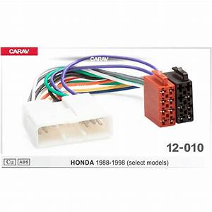 Carav12 010 Iso Radio Adapter For Honda 1988 1998  Select