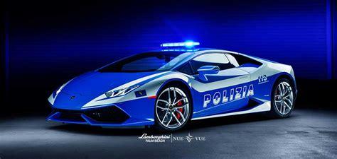 lamborghini palm beach launches huracan police car