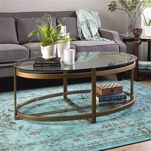 coffee tables with glass top ethan allen retro gold tone With gold tone coffee table