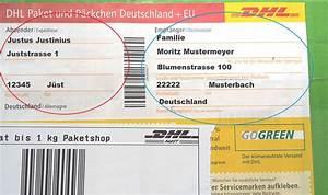 Dhl Versand Deutschland : briefe und pakete richtig beschriften f r deutschland ~ Orissabook.com Haus und Dekorationen