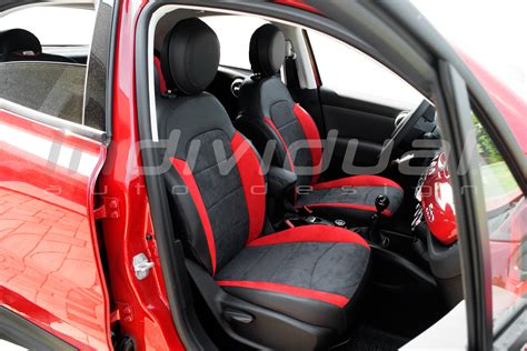 Fiat 500 Seat Covers by Car Seat Covers Fiat 500x Individual Auto Design