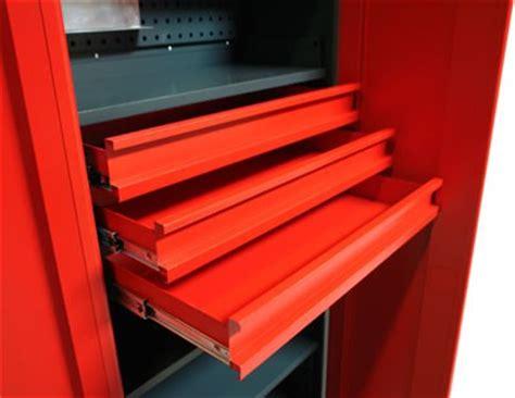 armoire d atelier m 233 tallique 3 tiroirs mobilier d atelier