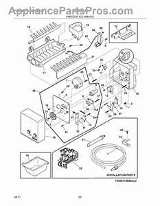 Parts For Frigidaire Lgub2642lf3  Freezer Ice Maker Parts