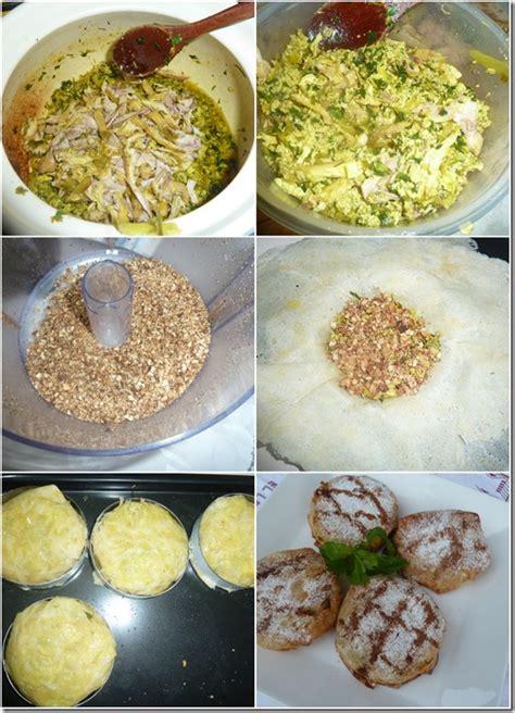 ratiba cuisine pastilla individuelle au poulet et amandes le de recettes de ratiba