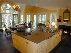 choose the best country kitchen design ideas 2014 my With kitchen and great room designs