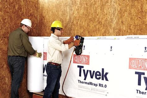 dupont launches industry  tyvek thermawrap