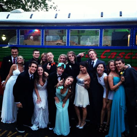 party bus prom prom party bus portland style in oregon and washington