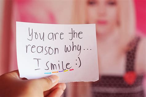 """You Are The Reason Why I Smile """""""