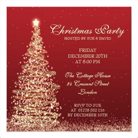 printable christmas invitation templates  ai