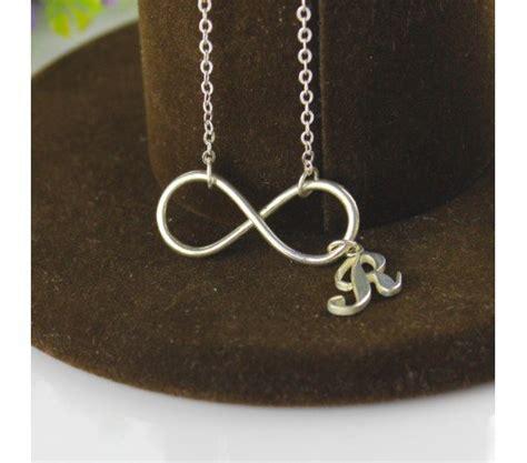 jual beli kalung nama inisial huruf monel stainless