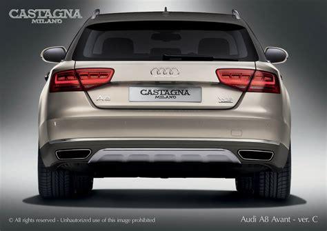 Audi A8 Avant by Audi A8 Avant Allroad W12 Jedini Na Svetu Vrele Gume