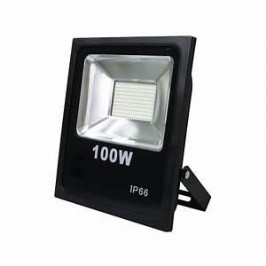 Projecteur à Led : projecteur led 100w 8000 lumens ip66 ultra blanc 6000k adtuning france ~ Melissatoandfro.com Idées de Décoration