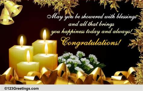 shower  blessings  congratulations ecards greeting cards