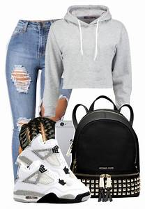 Girl Outfits With Jordans Polyvore | www.pixshark.com ...
