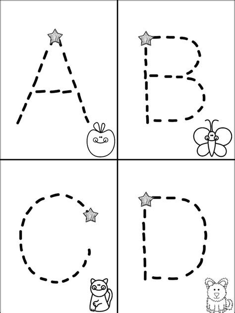 alphabet for preschoolers printable worksheets 187 abc for preschoolers worksheets 175