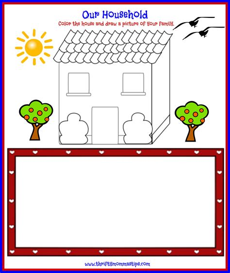 family day printable worksheets