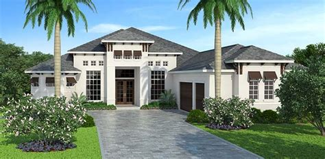 Mediterranean Style House Plan 72806 with 3 Bed 5 Bath