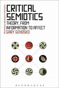 Semiotics Examples Critical Semiotics Theory From Information To Affect