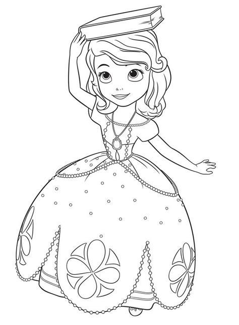 principesse disney da disegnare principessa sofia da disegnare e colorare disney junior
