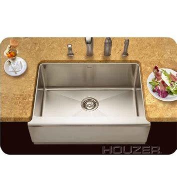 houzer kitchen sink houzer eps 3000 farm house undermount single basin kitchen 1714