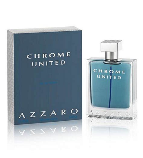 azzaro chrome united eau de toilette spray for 100ml