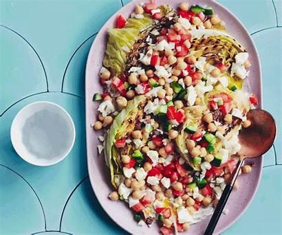 Salad Cabbage Pickled Vegan Recipes Carrington Charlie