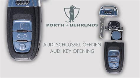 audi schlüssel nachmachen neuen audi schl 220 ssel 214 ffnen new audi key opening