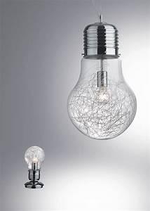 Lampe En Forme D Ampoule : suspension forme ampoule ~ Teatrodelosmanantiales.com Idées de Décoration