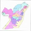 Hudson County, NJ Zip Code Boundary Map